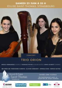 Concert du Trio Orion