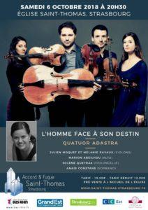 L'homme face à son destin – Quatuor Adastra