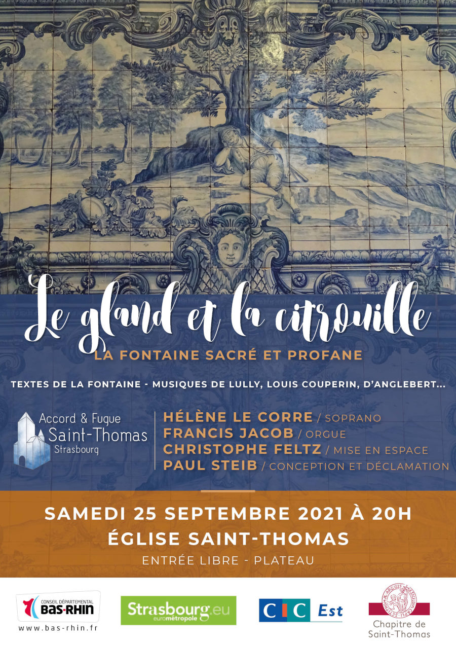 Le Gland et la citrouille : La Fontaine sacré et profane