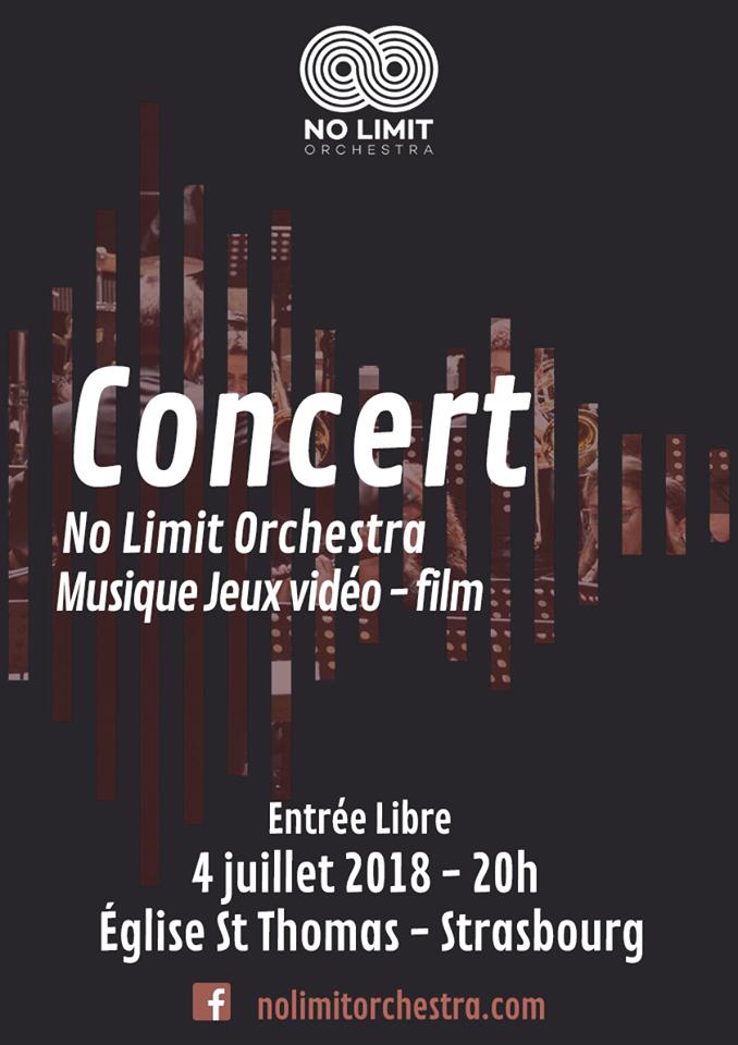 Concert No limit Orchestra Strasbourg
