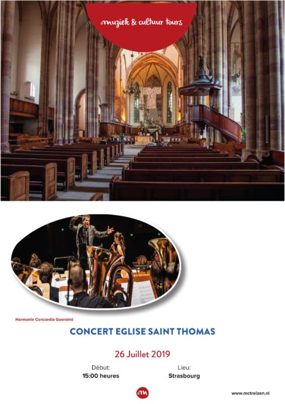 Concert Eglise Saint Thomas
