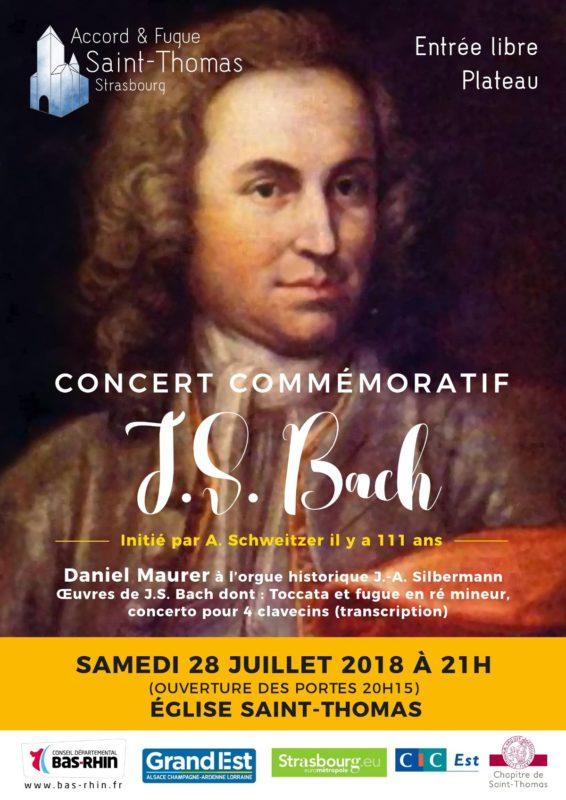 Concert J S Bach Strasbourg Saint Thomas