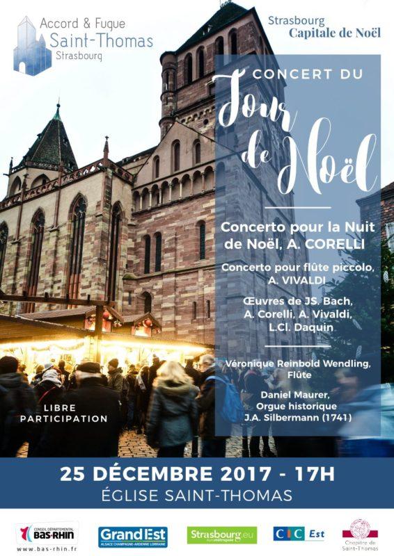 Concert du Jour de Noël 2017