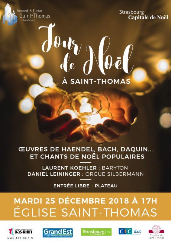 Concert du jour de Noël à Saint-Thomas Strasbourg