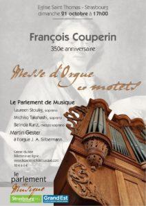 Messe d'orgue – François Couperin 350e anniversaire