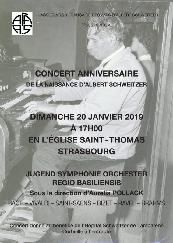 Concert anniversaire de la naissance d'Albert Schweitzer