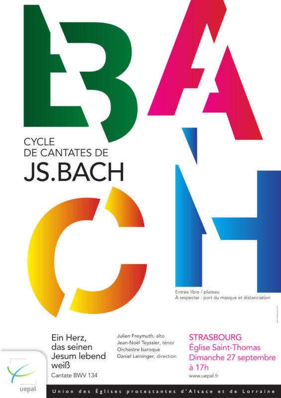 Concert Strasbourg Cycles de cantates de Bach