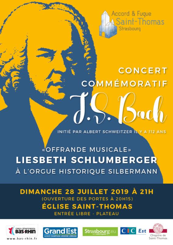 Concert Bach Strasbourg juillet 2019