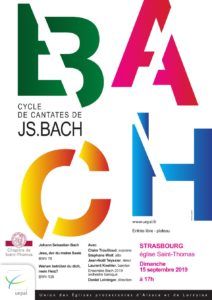 Cycle Bach Concert Strasbourg