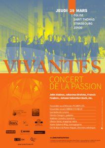 Vivantes, concert de la Passion