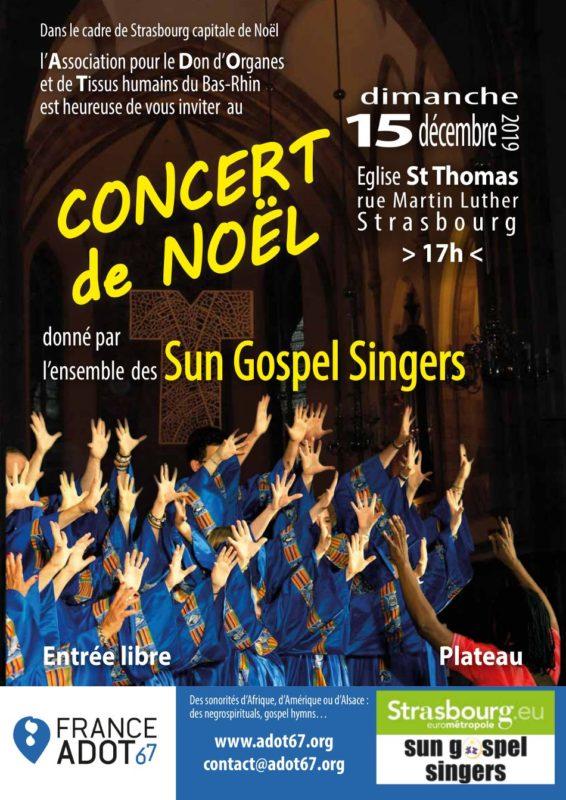Concert Gospel Strasbourg Noël