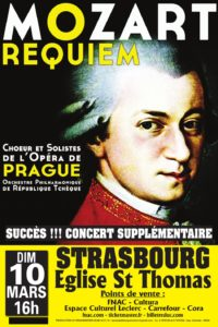 Concert Mozart Strasbourg