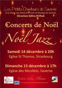 Concert Noël Jazz Strasbourg