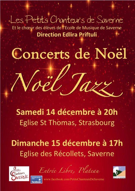 Concert de Noël Jazz Strasbourg à Saint-Thomas