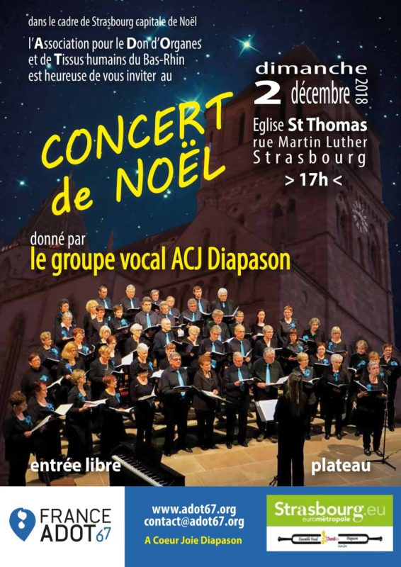Concert Noël ACJ Diapason