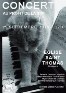 Concert au profit de la SPA de Strasbourg