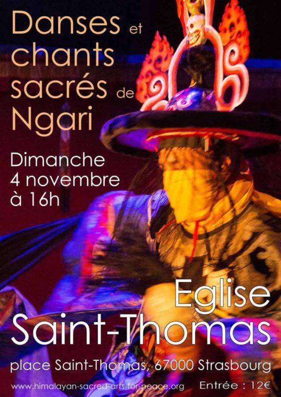 Danses et chants sacrés Ngari Strasbourg