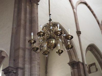 Endroits remarquables de l'église Saint-Thomas Strasbourg