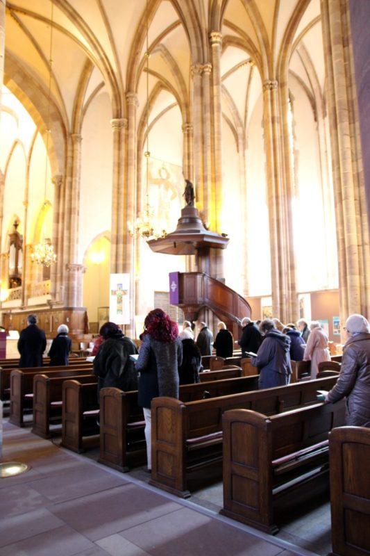 Prière de midi Saint Thomas Strasbourg