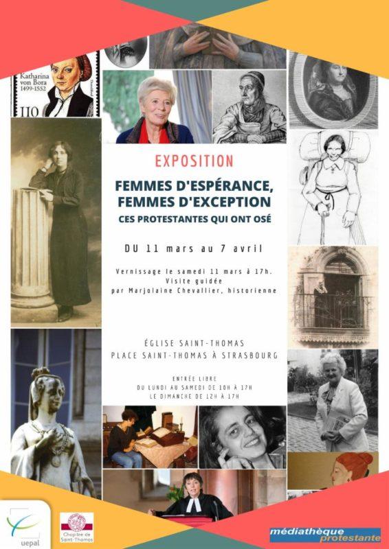 Exposition femmes d'espérance, femme d'exception.